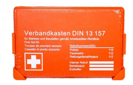 Betriebsverbandkasten DIN 13157 Sonderposten