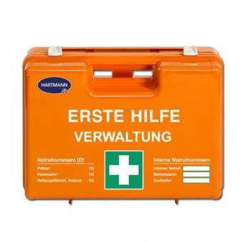Erste Hilfe Koffer Verwaltung